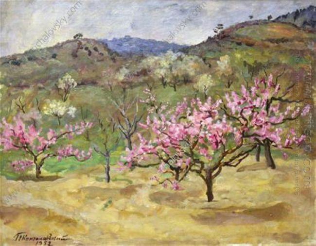 Crimea Peach Garden 1952