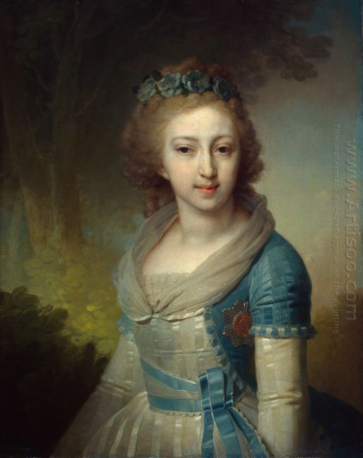 Grand Duchess Elena Pavlovna Of Russia 1799