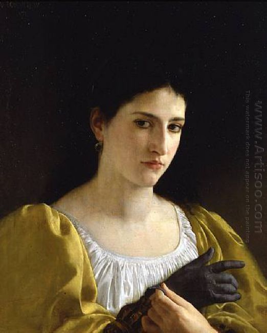 Lady With Glove 1870