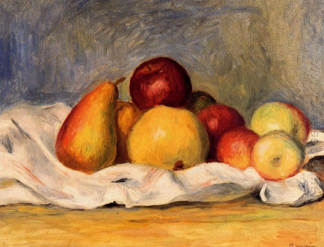 Pears And Apples 1890