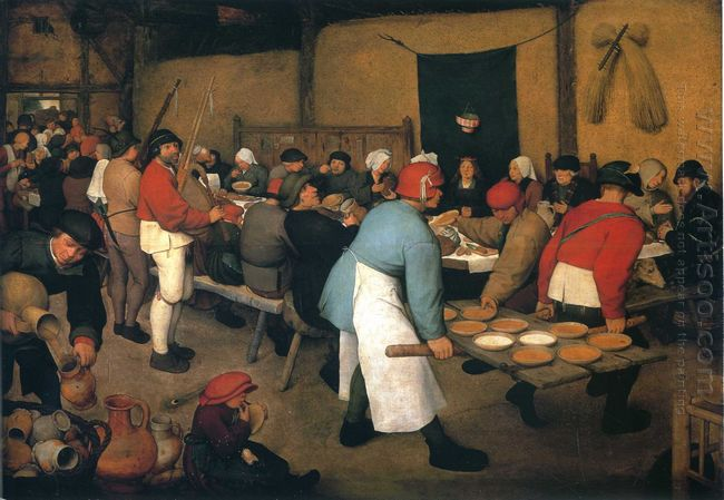 Peasant Wedding 1568