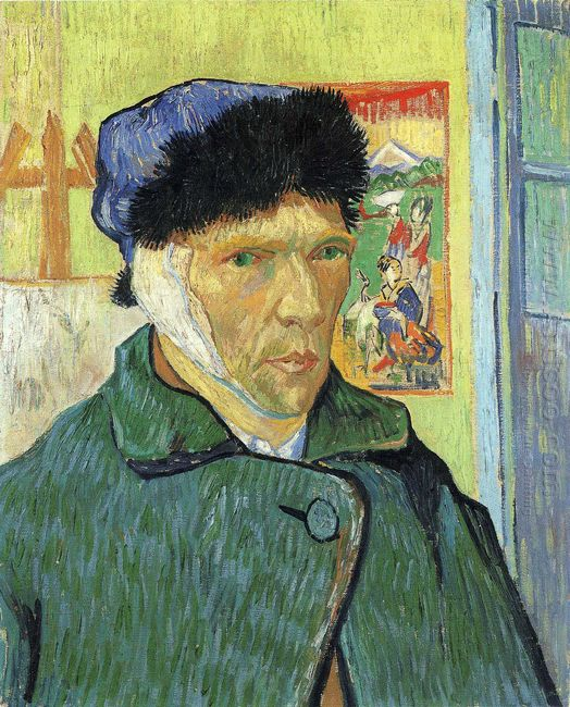 Self Portrait With Bandaged Ear 1889