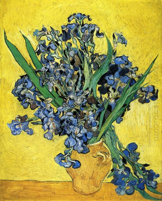Still Life With Irises 1890