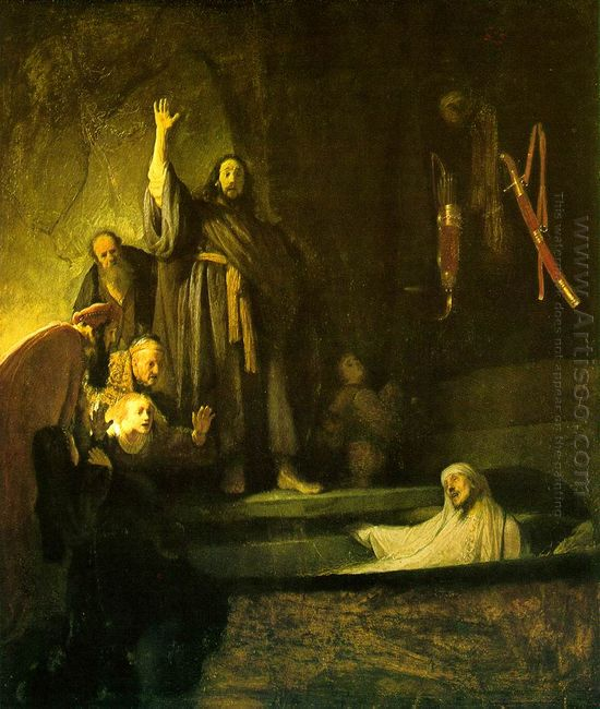 The Raising Of Lazarus 1630
