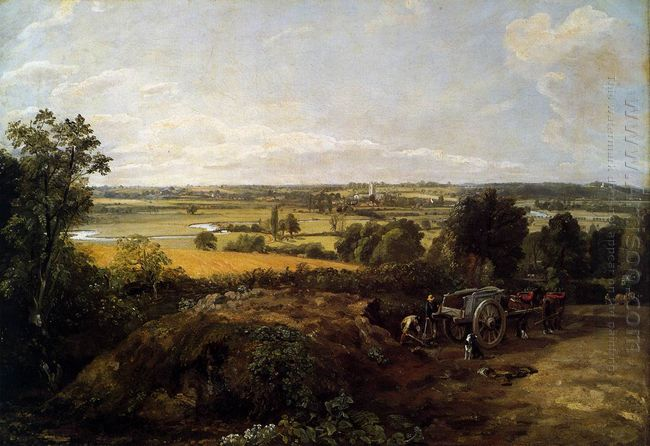 The Stour Valley with the Church of Dedham 1814
