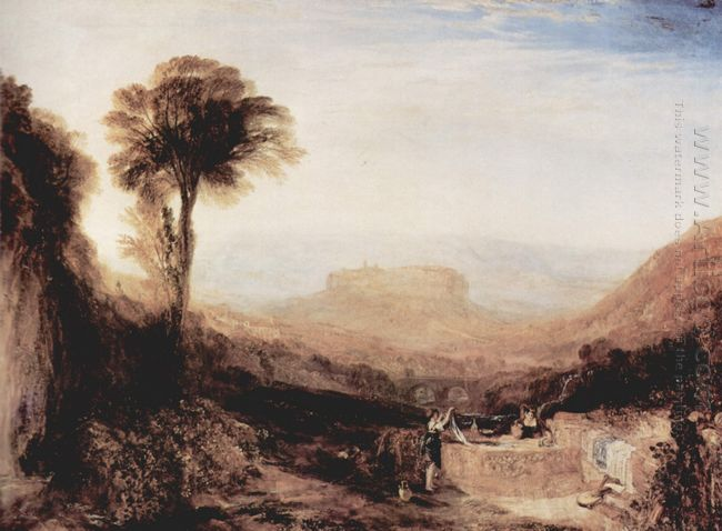 View Of Orvieto 1829