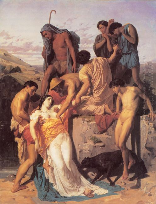 Zenobia Found By Shepherds On The Banks Of The Araxes 1850