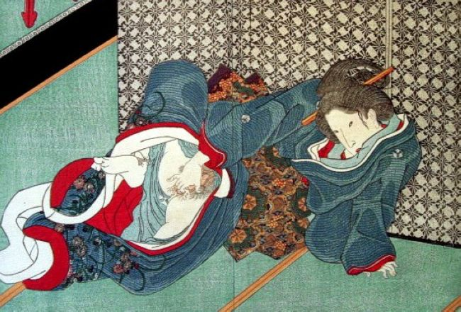 Искандер = Мастурбирование в искусстве = Женская мастурбация = Shunga surim