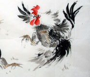 Chinese Kip Schilderkunst