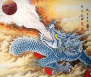 Chinese Draak Schilderkunst