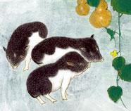 Chinese Varken Schilderkunst