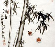 Chinese Bamboe Schilderkunst