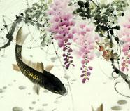 Chinese Vis Schilderkunst