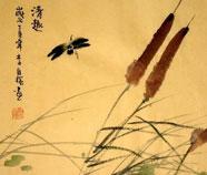 Chinese Orchidee Schilderkunst