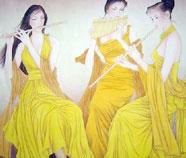 Chinese Mooie Dames Schilderkunst