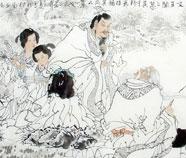 Chinese Visboeren Schilderkunst