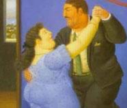 Dansers olieverfschilderijen