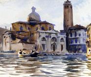 Beroemde Steden olieverfschilderijen