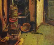 Interieur olieverfschilderijen