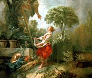 Pastorale olieverfschilderijen