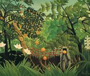 Wildernis olieverfschilderijen