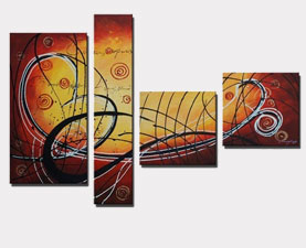 Abstract Canvas Sets