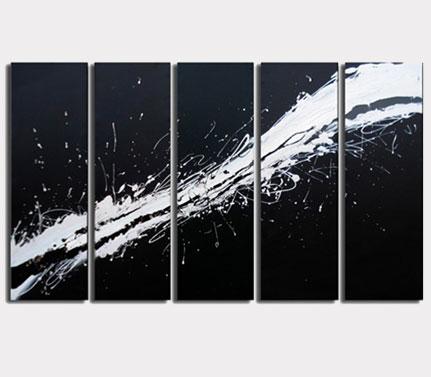 Zwart- wit/Sepia Canvas Sets