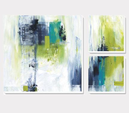 Koele kleuren Canvas Sets