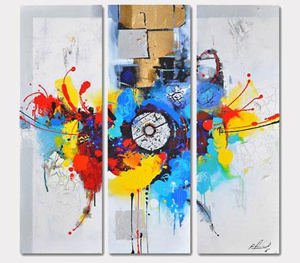 Meerkleurig Canvas Sets