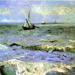 Pitture ad olio di Paesaggi di mare